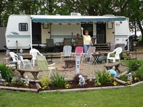 Backyard Camping Activities Seasonal Campsite The Decorated Campsite Pinterest