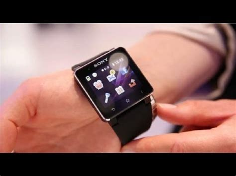 Hp Jam Tangan Sony Smartwatch look sony smartwatch 2 sw2 made for android