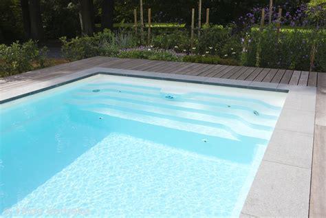 Zwembad Met Jetstream by Zwembad Met Jetstream Buitenzwembad Met Houten Terras
