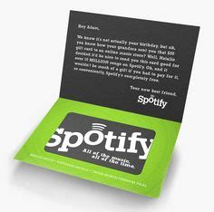 Where To Find Spotify Gift Cards - card designs gift cards and cards on pinterest