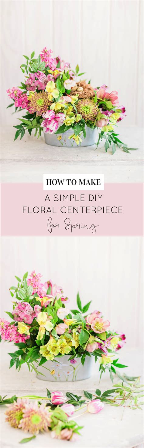 how to make simple diy flower arrangements glitter inc how to make a beautiful spring floral arrangement