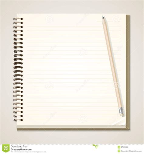 house and notebook royalty free stock photos image 25910908 paper notebook and pencil royalty free stock image image