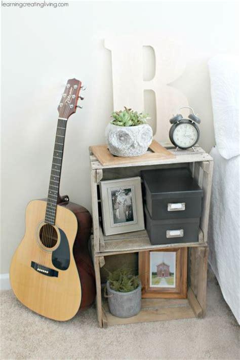 buro hecho de cajas de madera reutilizar y decorar decoracion de