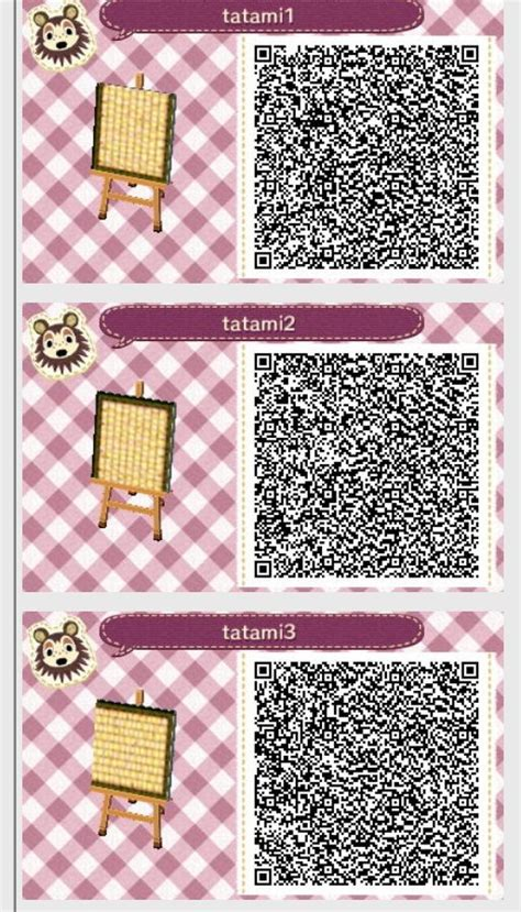 Dress Tatami Ribbon tatami mat 1 2 3 animal crossing new leaf qr codes