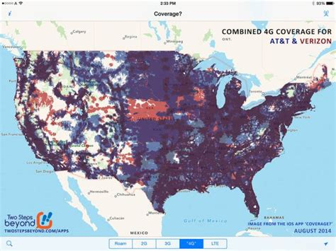 verizon xlte map at t closing in on verizon for lte coverage and