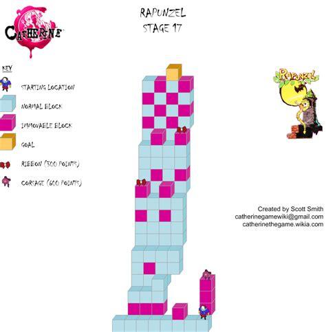 Gamis Rapunzel No 1 1 2th rapunzel stage 17 catherine wiki fandom powered by wikia