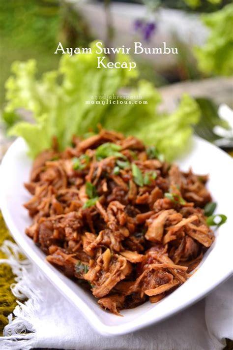 ayam suwir bumbu kecap indonesian food  drink