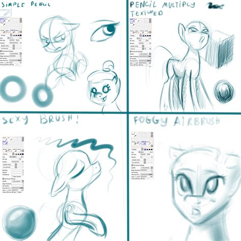 how to make doodle using paint tool sai sketch brush exles paint tool sai by alumx on deviantart