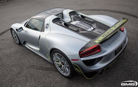 918 Spyder Porsche by Porsche 918 Spyder Carbon Additions Gmg Racing