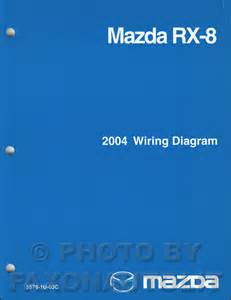 2004 mazda rx 8 wiring diagram manual original rx8