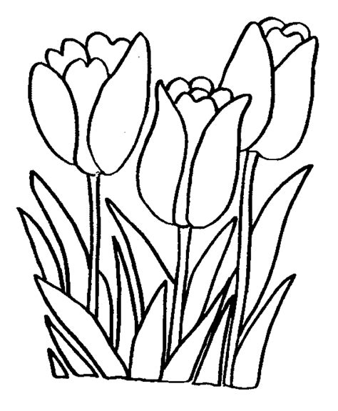 flower coloring pages easy flower coloring pages