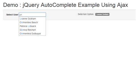 tutorial jquery php autocomplete simple exle of jquery autocomplete js tutorials