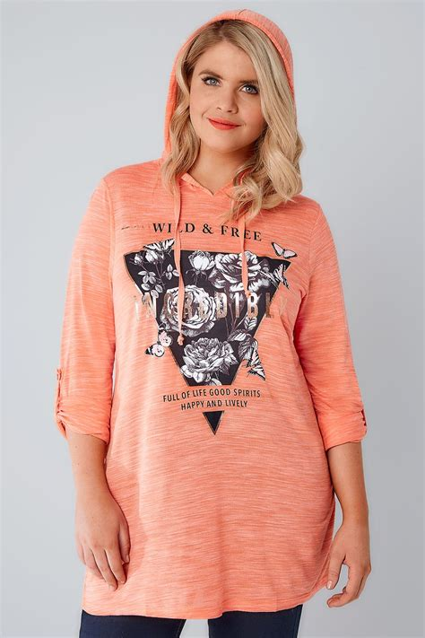 Can You Purchase Items Online With A Visa Gift Card - coral wild free hooded sweat top plus size 16 to 36