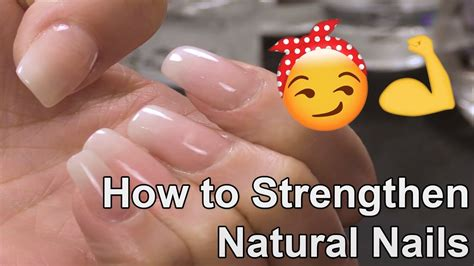 7 Ways To Strengthen Your Nails by How To Strengthen Nails With An Acrylic Overlay