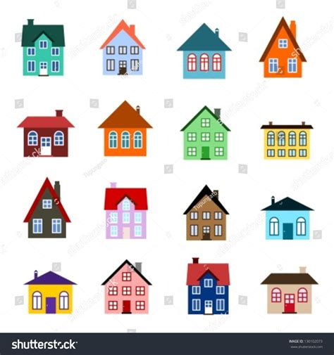 house line drawing images stock photos vectors shutterstock house set colourful home icon collection stock vector