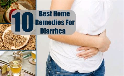 10 best home remedies for diarrhea treatment and