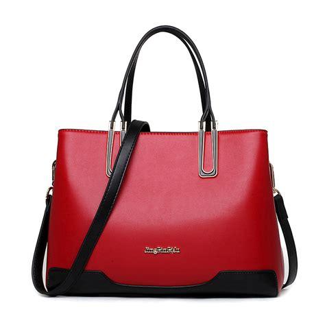 new 2016 bag luxury leather handbags fashion