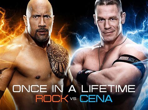 who has won matches between cena and the rock sports platform all in one sports