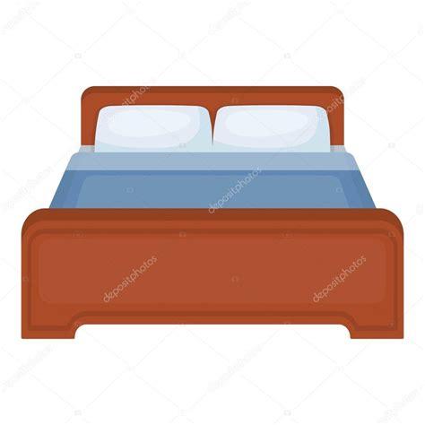 imagenes groseras en la cama icono de la cama en estilo de dibujos animados aislado