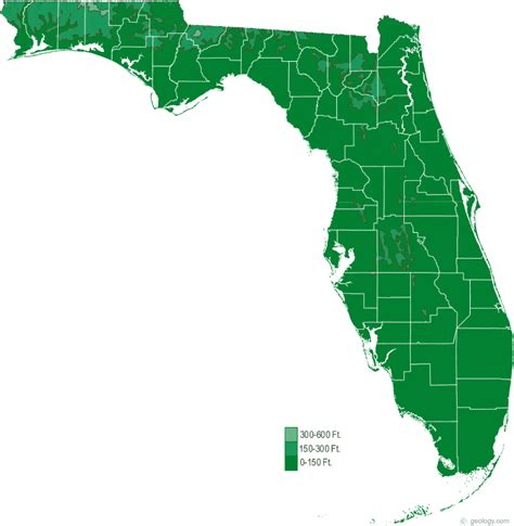 state of florida map florida physical map and florida topographic map