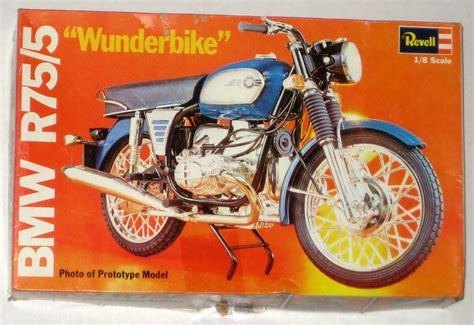 Revell Modell Motorrad by Sold Revell Bmw R75 5 Motorcycle Plastic Model Kit