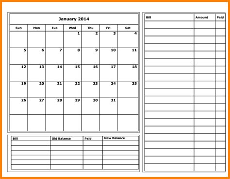 budget calendar template 18 financial report sle 8 variable costing