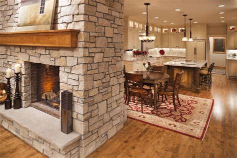 kitchen fireplace houzz plymouth kitchen renovation traditional kitchen