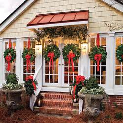 window wreaths decorating ideas for porches doors and windows