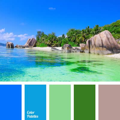 hawaii colors in hawaii style color palette ideas