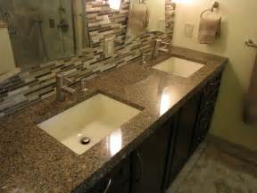 Bathroom Vanity Countertops Ideas by Master Bath Remod Vanity Tops And Side Splashes