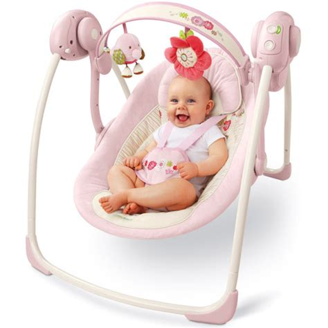 bright starts infant swing bright starts comfort harmony portable swing vintage