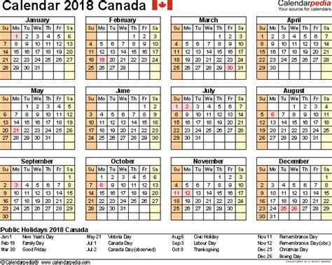 canada calendar   printable word templates