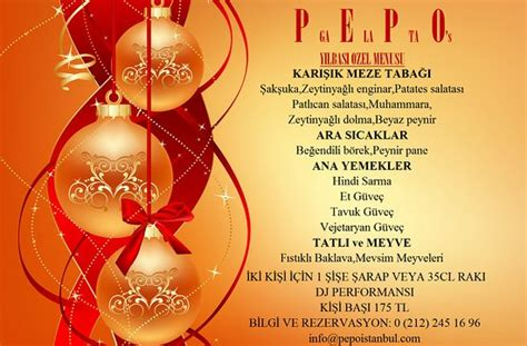 thank you for new year gift pepo cafe and restaurant istanbul restoran yorumları