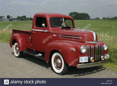 1946 Ford Truck by 1946 Ford Truck Stock Photo 3811860 Alamy