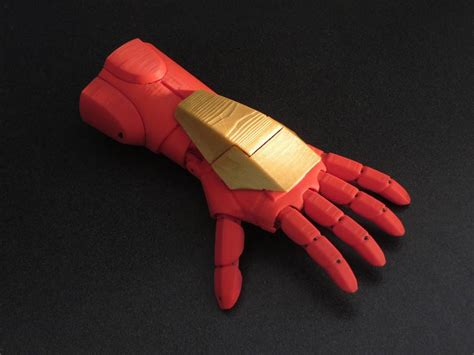 How To Make A Paper Iron Glove - laser beaming thruster equipped voice controlled 3d