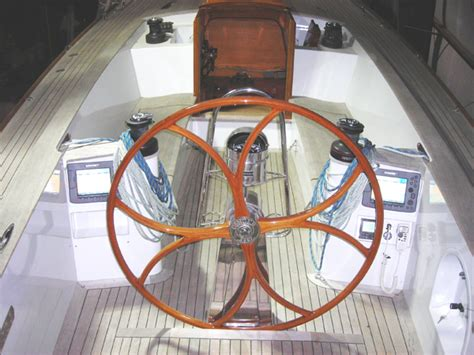 can t get boat steering wheel off building a wooden boat steering wheel at brooklin boat yard