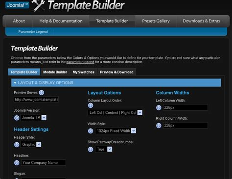 joomla template maker tutorial arena free template generator for joomla