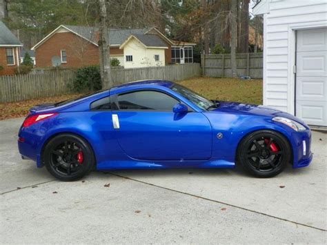 blue nissan 350z with black rims 17 best images about nissan on pinterest lucci halo and