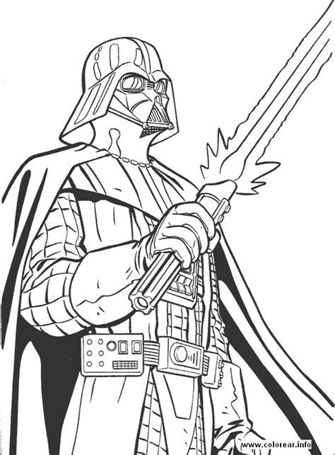 Darth Vader: Imágenes para colorear de Star Wars YODA