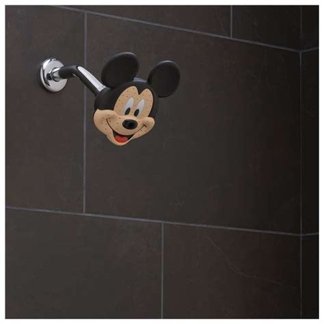 Oxygenics Disney Mickey Mouse Fixed Shower Head 79268 Mickey Mouse Bathroom Fixtures