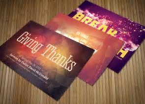 give thanks template give thanks church postcard bundle card templates on