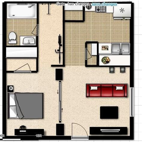 efficiency apartment layout studio apartment layout layouts pinterest apartment