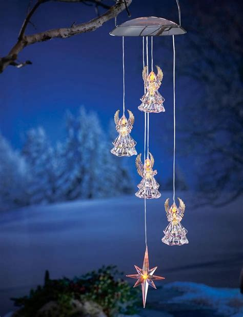solar lighted wind chimes 17 best images about wind chimes on pinterest gardens