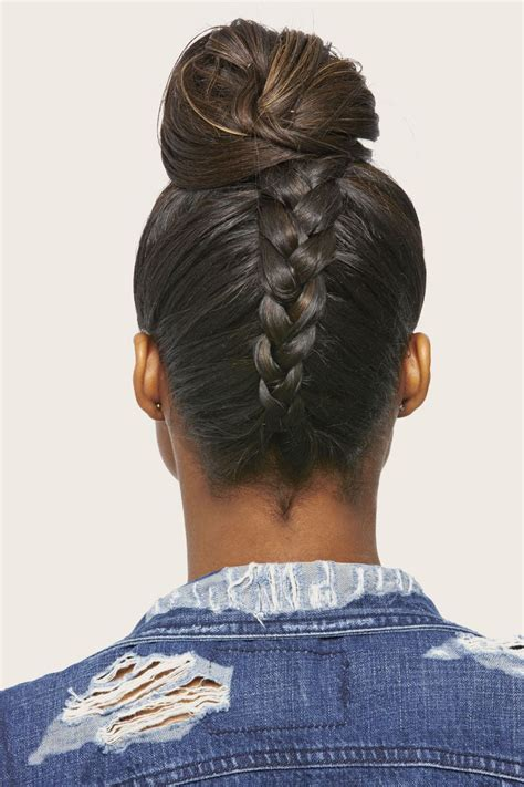 french braid back of head 17 best images about hair top knot envy on pinterest