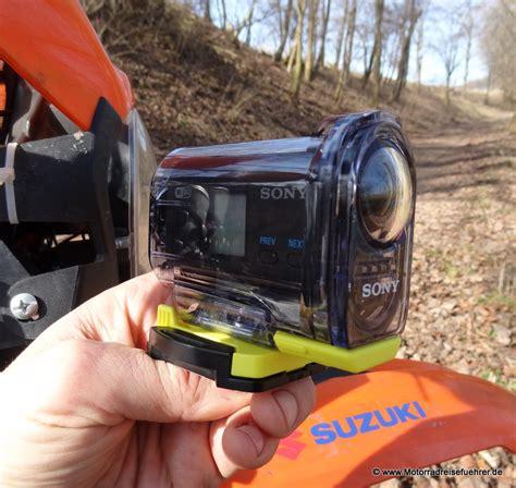Motorrad Cam Test by Sony Hdr As15 Actioncam Motorradreisefuehrer De