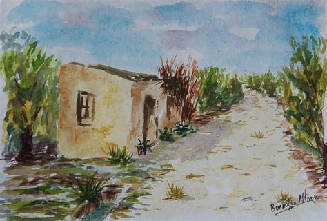 imagenes de paisajes en acuarela buendia martinez acuarela paisajes