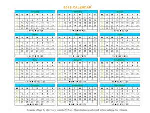 Word 2015 Calendar Template by 16 2015 Word Calendar Template Images 2015 Monthly