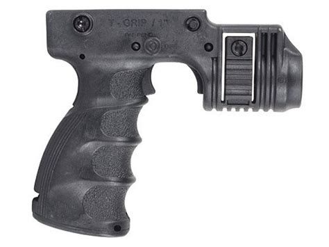 vertical grip with light mako vertical forend grip trigger activated light mount