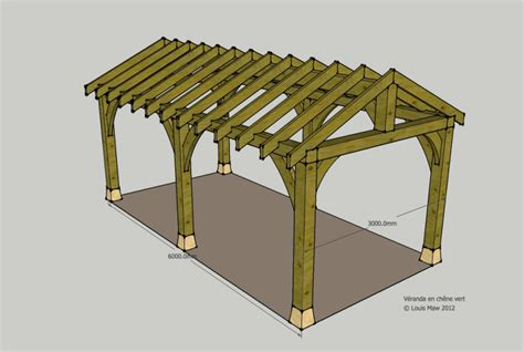 Free House Plans With Material List by Timber Frame Carport Plans 171 Pretty53ycm