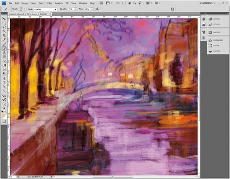 tutorial photoshop oil painting effect how to oil paint in photoshop part 2 photoshop daily